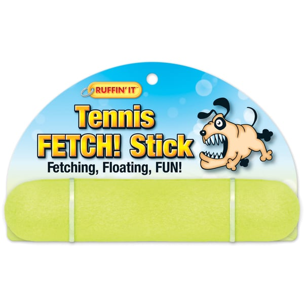 Tennis Fetch Stick 8in Dog Toy