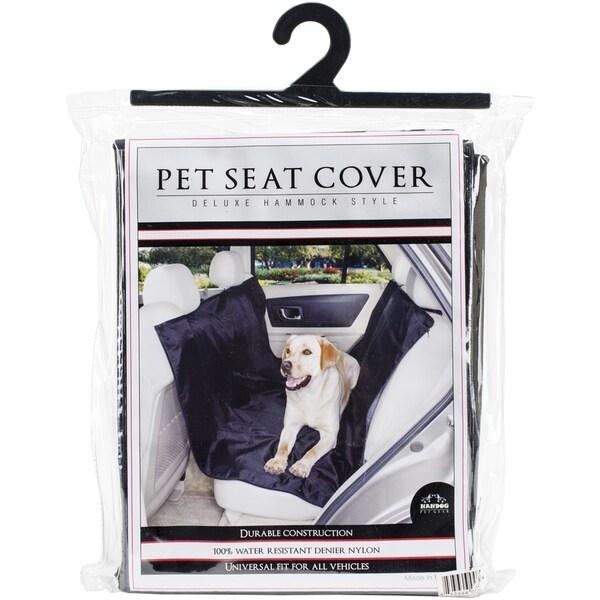 Nandog Car Seat Cover Hammock 59inX47inBlack