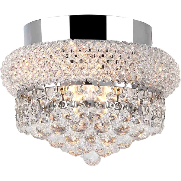 French Empire Five Light Chrome Finish With Clear Crystal Chandelier Furniture Decorations Diy