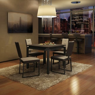 Amisco Soho Metal Chairs and Cameron Table, Dining Set