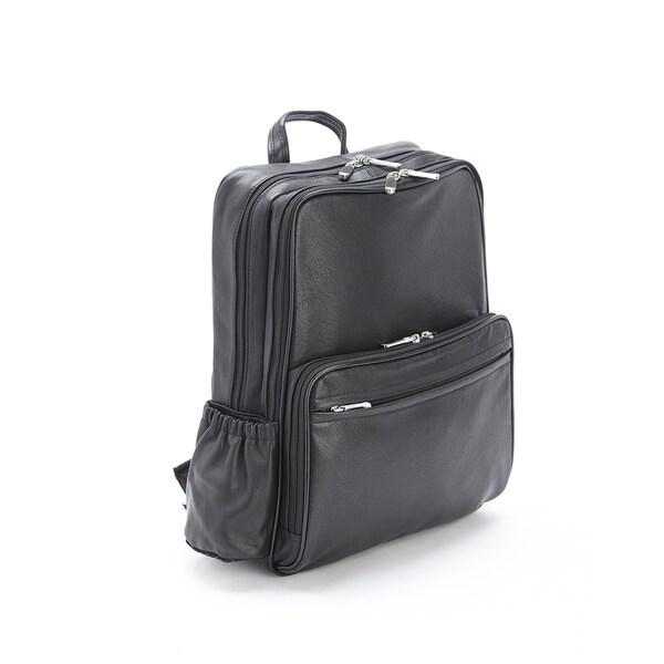 Royce Leather Full Grain Cowhide 13-inch Laptop Backpack
