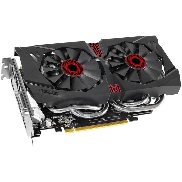 Asus Strix STRIX-GTX960-DC2OC-4GD5 GeForce GTX 960 Graphic Card - 1.2