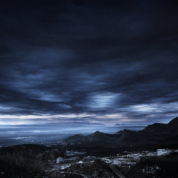 Marmont Hill Art Collective 'Dark Skies' Canvas Art