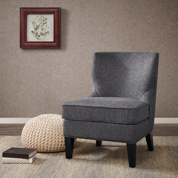 Celeste Grey Armless Chair