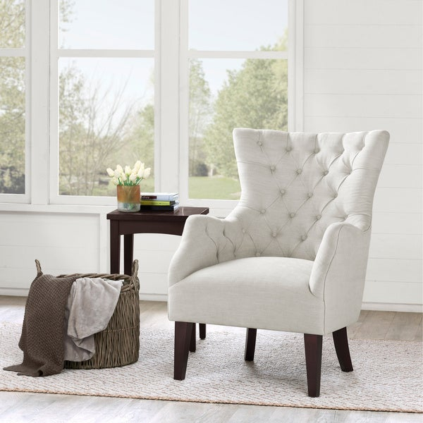 ... White Wing Chair - Overstock Shopping - Great Deals on Living Room