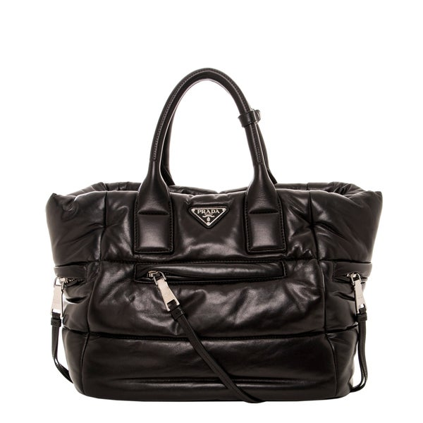 Prada Nappa Leather Bomber Tote