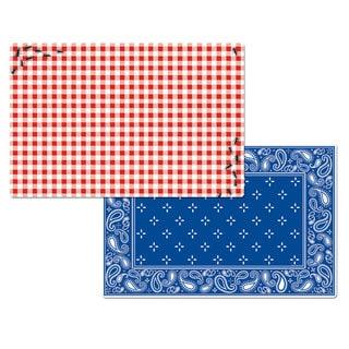 Picnic Guests Reversible Decofoam Placemats (Set of 4)