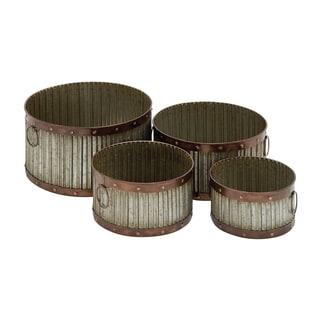 Metal Planter (Set of 4)