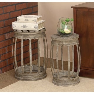 18-inch Metal Stool (Set of 2)