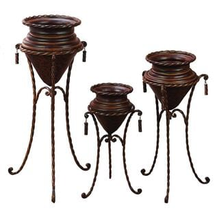 Metal Plant Stand (Set of 3)