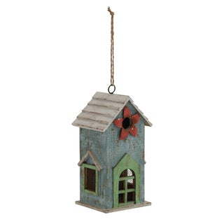 21-inch Wood Birdhouse