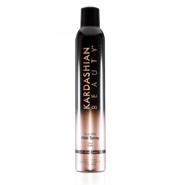 Kardashian Beauty Pure Glitz 12-ounce Hair Spray with Black Seed Oil
