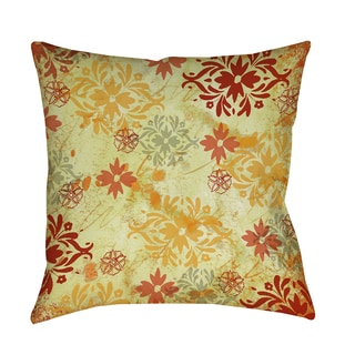 Thumbprintz Palms Pattern X Indoor/ Outdoor Pillow