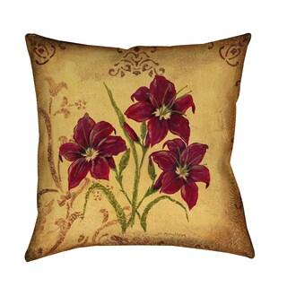 Thumbprintz 'Crimson III' Decorative Pillow