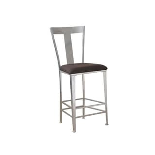 Powell Big and Tall Metal Contemporary Bar Stool
