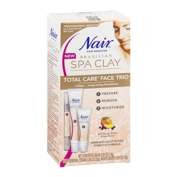 Nair Brazilian Spa Clay Total Care Face Trio 15345386