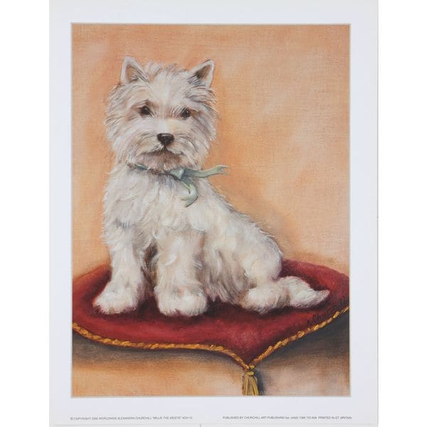Millie the Westie, Alexandra Churchill