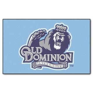 Fanmats Machine-Made Old Dominion University Blue Nylon Ulti-Mat (5' x 8')