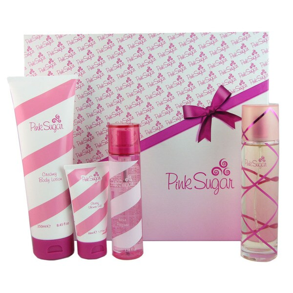 Aquolina Pink Sugar 4-piece Gift Set