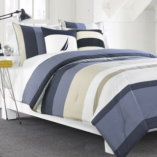Nautica Grand Bank 3-piece Duvet Cover Set