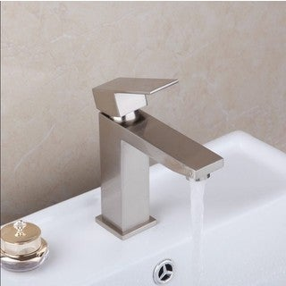 Starstar Bathroom Single Hole Lavatory Faucet With Lift Pop-up Drain