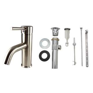 Starstar Bathroom Lavatory Faucet With Lift Rod Pop-up Drain