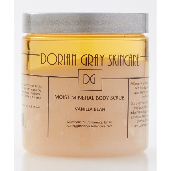 Sweet Vanilla Bean Moist Mineral Body Scrub