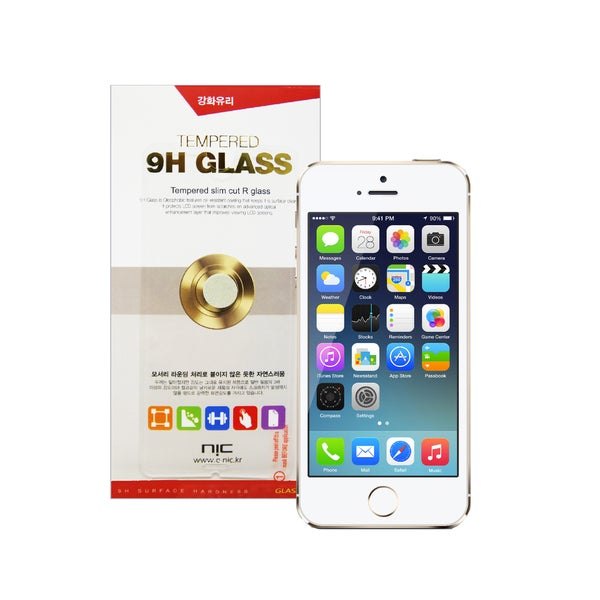 NIC 9H Tempered Glass Screen Protector for iPhone 5/ 5s