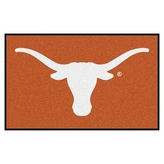 Fanmats Machine-Made University of Texas Orange Nylon Ulti-Mat (5' x 8')