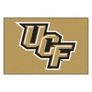 Fanmats Machine-Made University of Central Florida Gold Nylon Ulti-Mat (5' x 8')