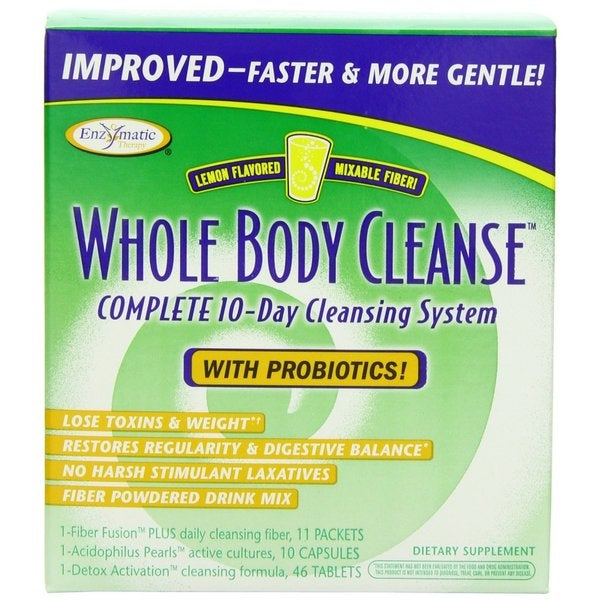 Enzymatic Therapy Whole Body Complete 10-day Cleansing System