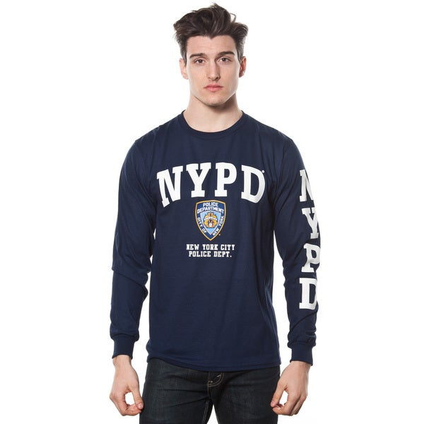 Men's NYPD Long Sleeve-print T-shirt