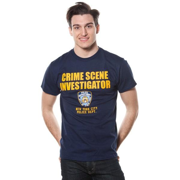 Men's NYPD Crime Scene Investigator T-shirt