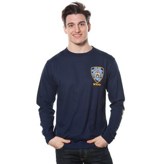 Men's NYPD Logo Patch Long-sleeve Tee