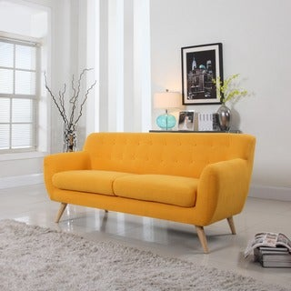 Mid Century Modern Sofa Living Room Furniture - Assorted Colors