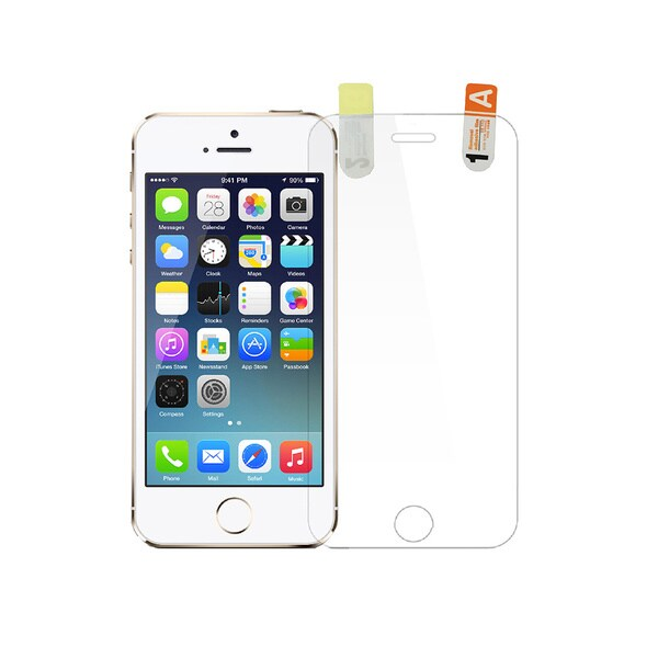 NIC Glasstic 4H Anti-Blue Light Shield Bulletproof Screen Protector Film for Apple iPhone 5/ 5s