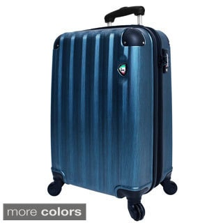 Mia Toro Lega Spazzolato 29-inch Lightweight Hardside Expandable Spinner Suitcase