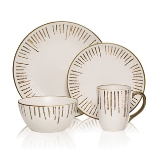 Gourmet Basic Delancey 16-piece Dinnerware Set