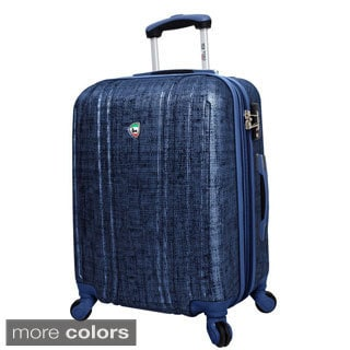 Mia Toro ITALY Macchiolina Abrasa 24-inch Lightweight Hardside Expandable Spinner Suitcase