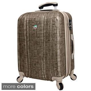 Mia Toro ITALY Macchiolina Abrasa 28-inch Lightweight Hardside Expandable Spinner Suitcase