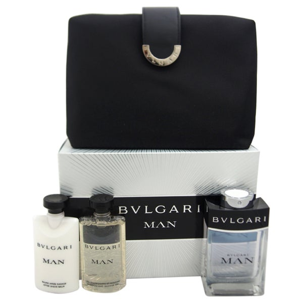 Bvlgari Man 4-piece Gift Set