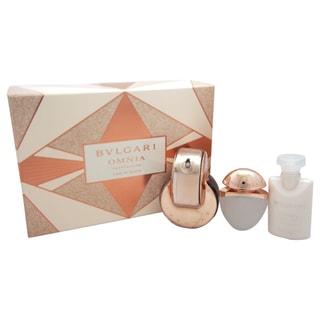 Bvlgari Omnia Crystalline L'eau De Parfum Women's 3-piece Gift Set