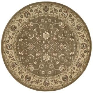Rug Squared Fenwick Taupe Rug (5'6 Round)