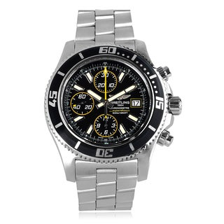 Breitling Men's 'Superocean II' A1334102-BA82 Link Watch