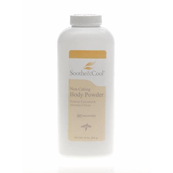 Soothe & Cool Cornstarch 14-ounce Body Powder (Case of 12)
