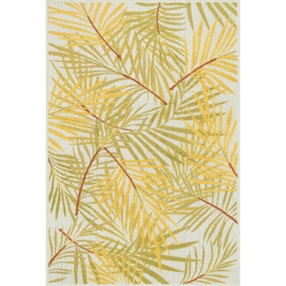 Indoor/ Outdoor Palm Rug (9'2 x 12'1)