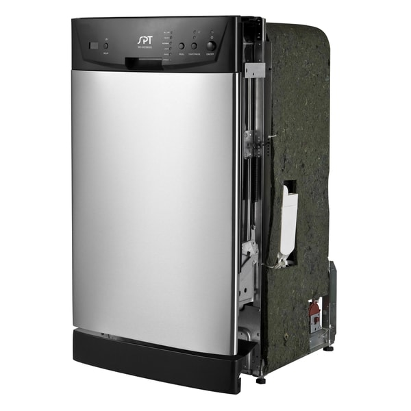 SPT Energy Star 18-inch Built-In Dishwasher - Stainless Steel 15347241