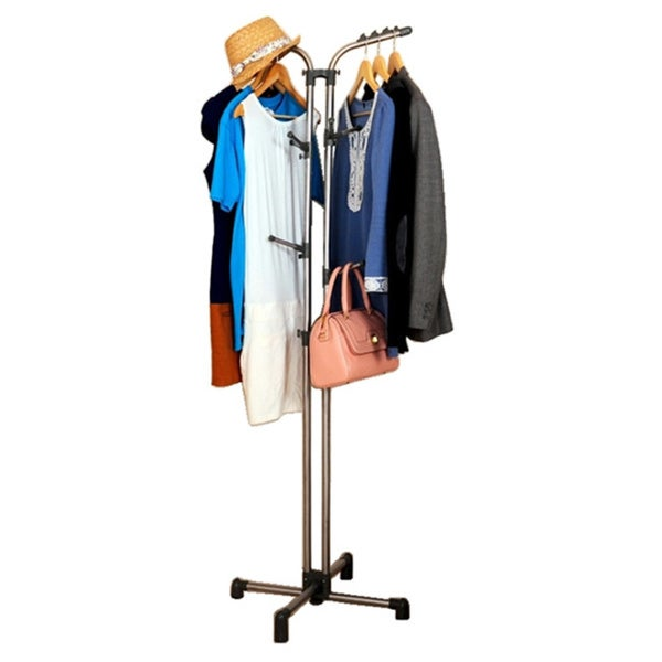 Clothes and Bags Storage Rack