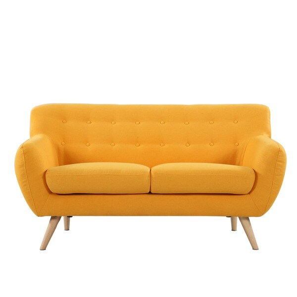 Mid Century Modern Love Seat Living Room Furniture ...