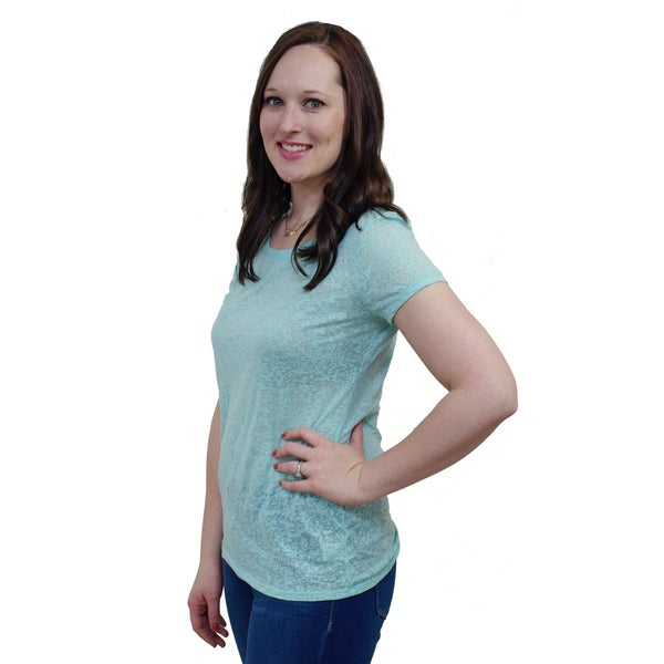 Artisans Apparel Lauren Dyed Burnout Tee